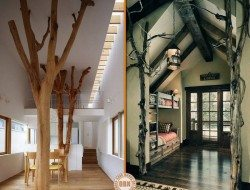 They both have elements of whole tree architecture but with quite a different feel.