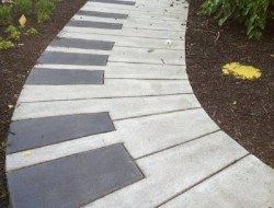 We think this is a great idea for a garden path. What do you reckon - thumbs up?