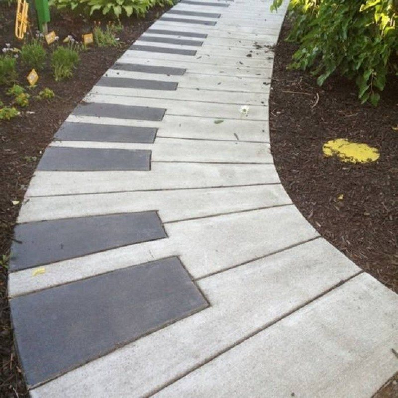Garden Path Ideas garden path and walkway ideas We Think This Is A Great Idea For A Garden Path What Do You Reckon