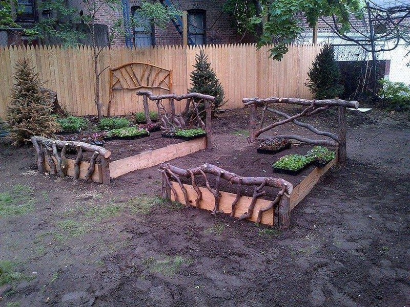 Raised garden beds!