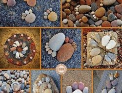 It's amazing what you can do with a bit of imagination and a few stones.