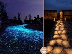 Do you recall our 'glowstone path' posts? Now a council in the UK is trialling them as a means of reducing electricity bills.