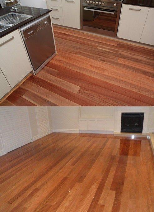 Brushbox flooring