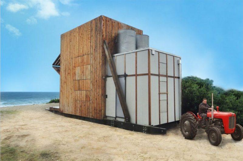 Tiny Beach House on Rails - Coromandel Peninsula, New Zealand