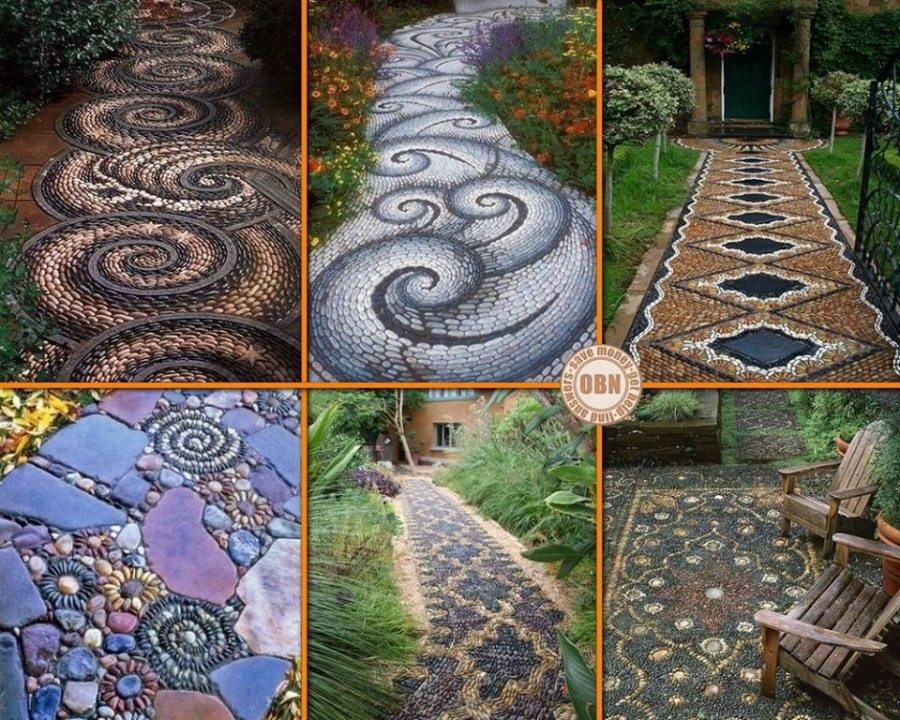 Here are six garden paths to admire. Is there a standout amongst them?