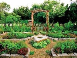 This is a lovely example of just how good a kitchen garden can look with a bit of planning and upkeep