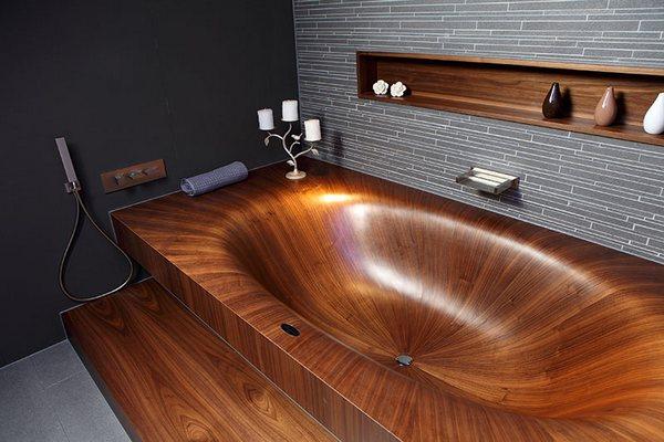 Timber Baths and Basins