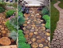 It's amazing what you can do with fallen trees and a chainsaw isn't it?