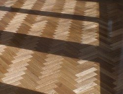 An example to Tallowwood parquetry