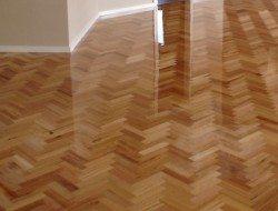 Tasmanian Oak parquetry flooring