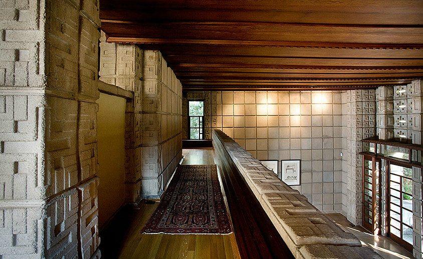Millard House By Frank Lloyd Wright   Living Room Void