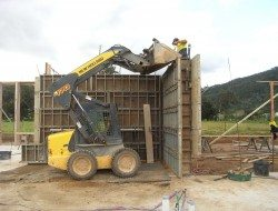 Internal wall construction