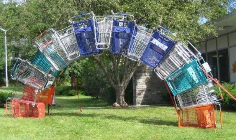 Shopping trolleys - Nuit Blanche Ottawa 2012