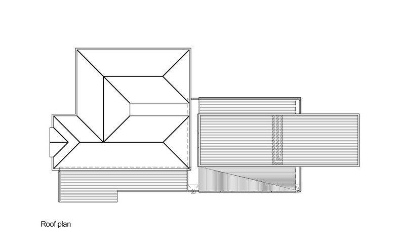 The Trojan House - Roof Plan