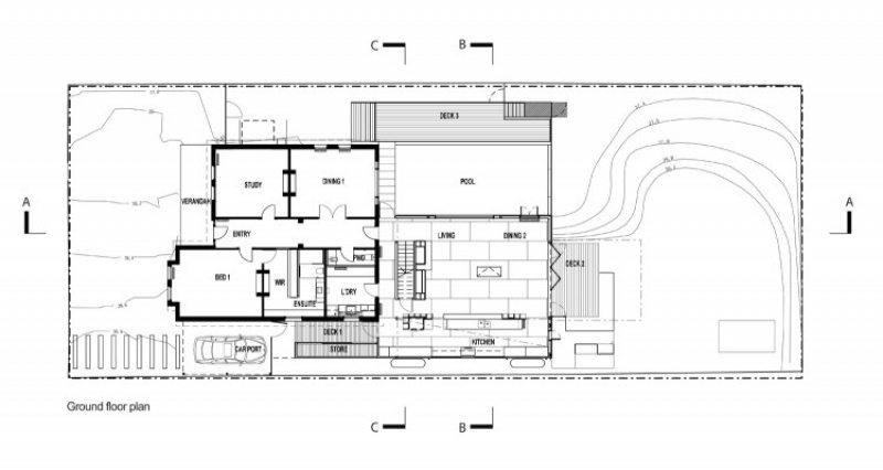 The Trojan House - Ground Floor Plan