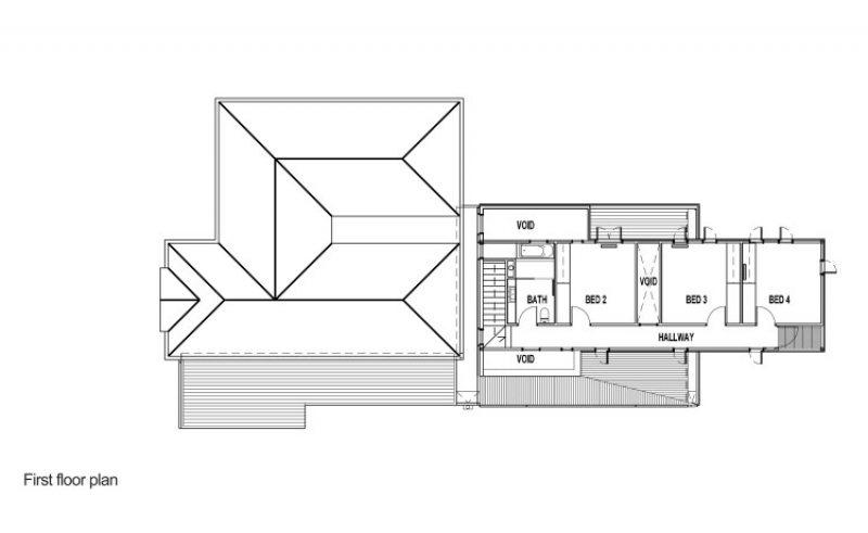 The Trojan House - First Floor Plan