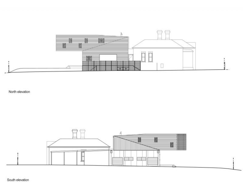 The Trojan House - Elevations 02