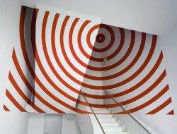 Felice Varini - What the eye sees