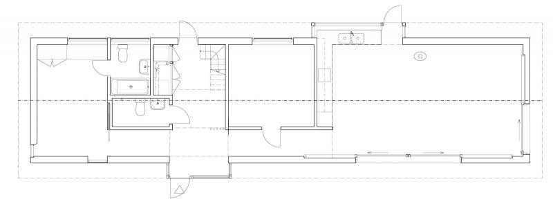 A Summer Home - Floor Plan