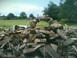 Order into chaos with this nasty heap of concrete rubble