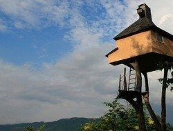 "Takasugi-an, ""A Tea House Built Too High"" - Nagano Prefecture, Japan"
