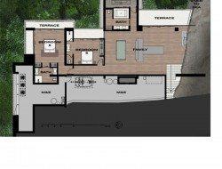 Villa Amanzi - Plan L1