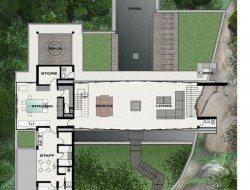 Villa Amanzi - Plan L2