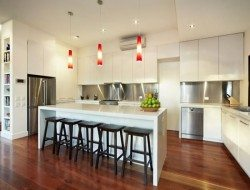 and kitchen