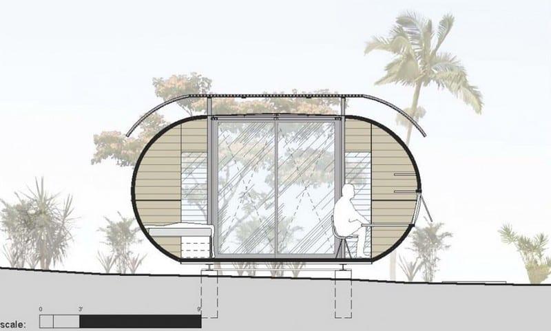 House Arc - Elevation