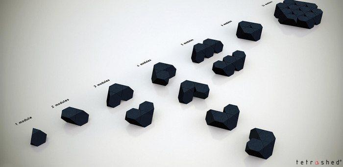 Tetra-Shed UK Modules
