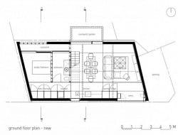 New ground level plan
