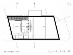 New upper level plan
