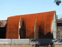 Corten steel exterior