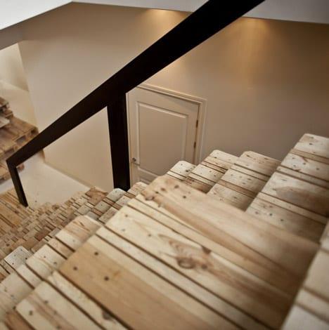 Pallet office diy repurposed recycled design ideas - Meuble en palette tuto ...