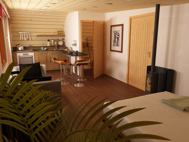 Eco-Perch - Dining Room