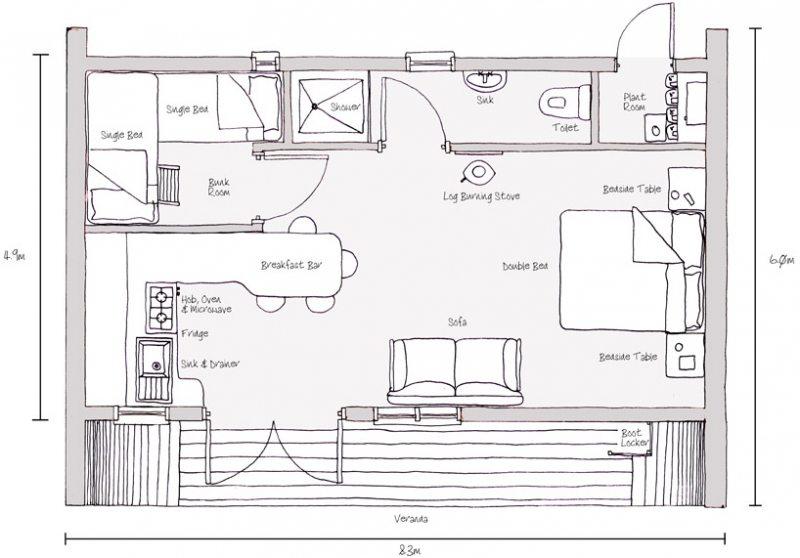 Eco-Perch - Floor Plan