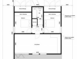 Garden Home by in.it.studios - Floor plan