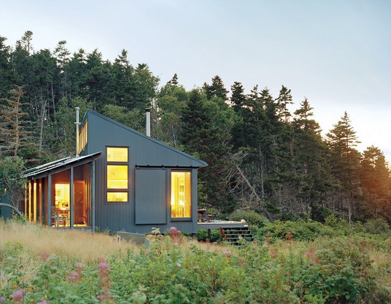 A Tiny Cabin in Maine