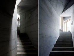 Underground living in Vals Switzerland