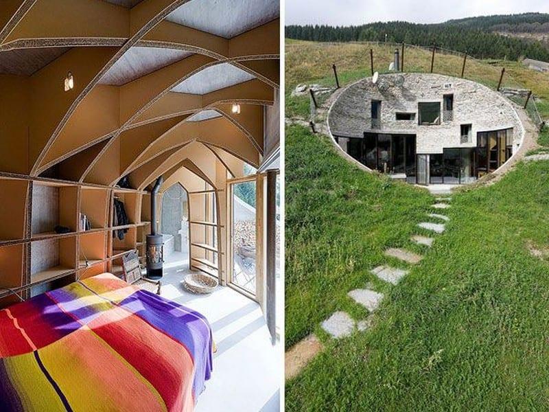 Underground living in switzerland underground living Underground home plans designs