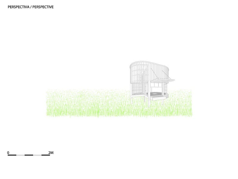 The Tea House - Perspective