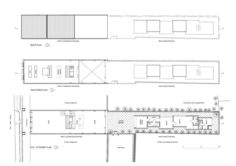 Lucky Shophouse - Floor Plans
