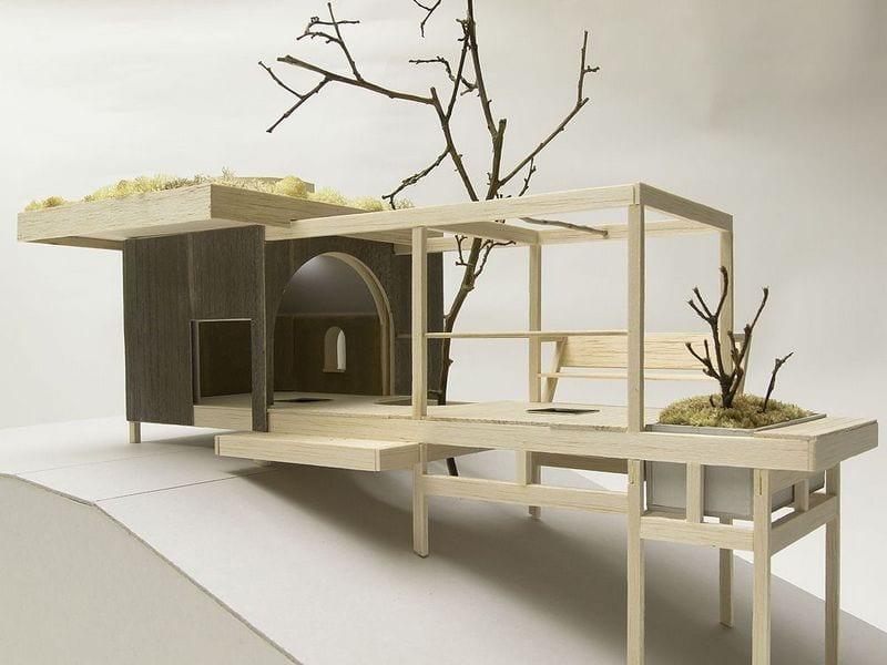 Tea House Hanging Garden - Model 6