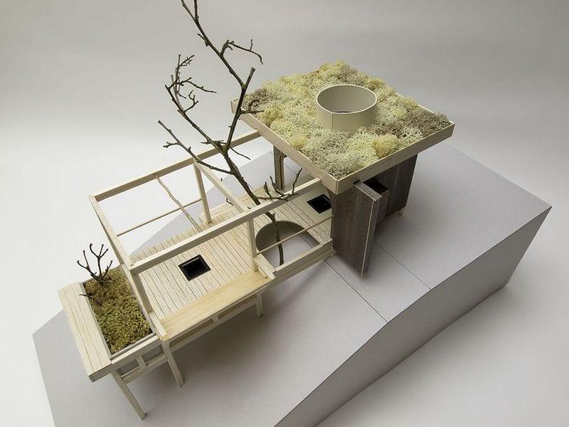 Tea House Hanging Garden - Model 7
