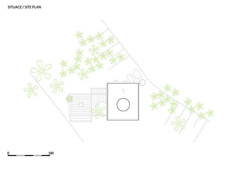 Tea House Hanging Garden - Site Plan