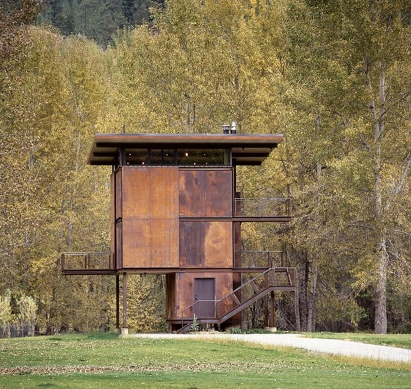 Delta Shelter - Olson Kundig Architects