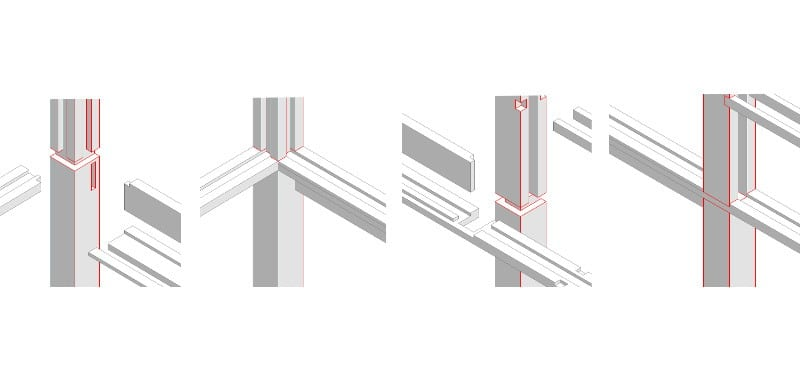 The Tea House - Structure details 01