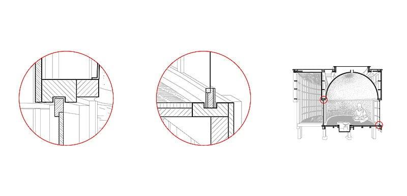 The Tea House - Structure details 03