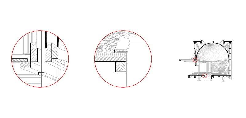 The Tea House - Structure details 04