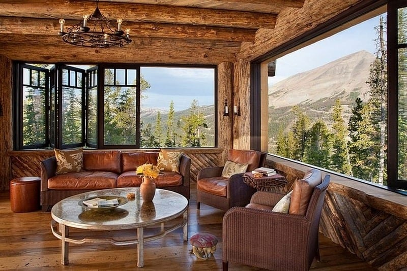 Beautiful timber, comfortable seating, natural light, and great view, is there anything you would like to change to make this space yours?